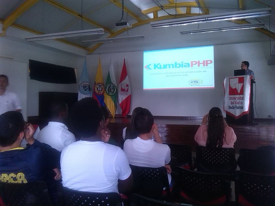 KumbiaPHP Universidad del Valle Colombia