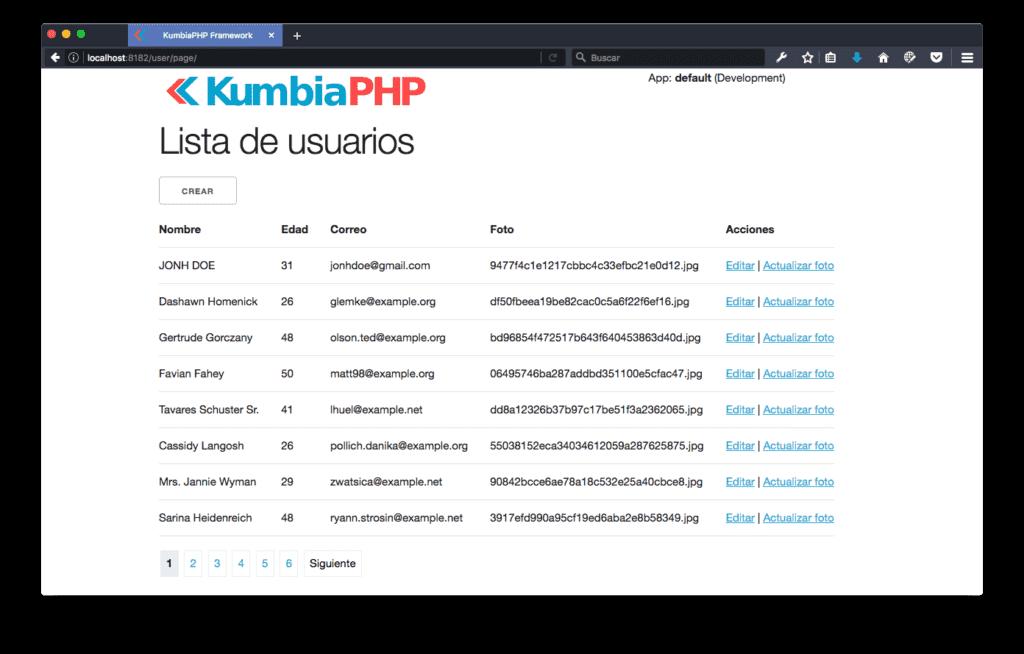 Paginación en PHP