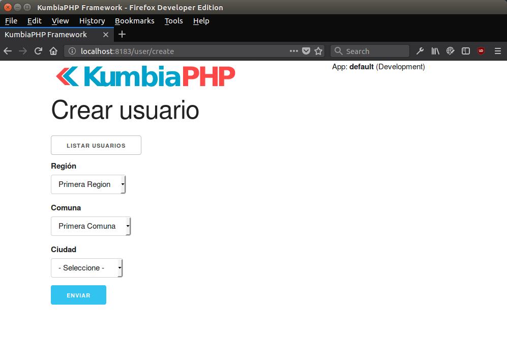 Select anidados o select dependientes con php y jquery