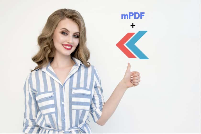 KumbiaPHP y mPDF