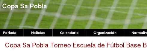 Fútbol Base Balear Torneo Escuela Copa Sa Pobla